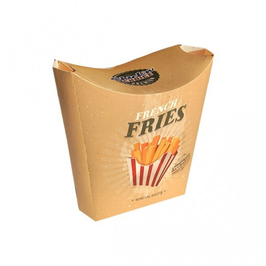 Pochette frite fermée personnalisée