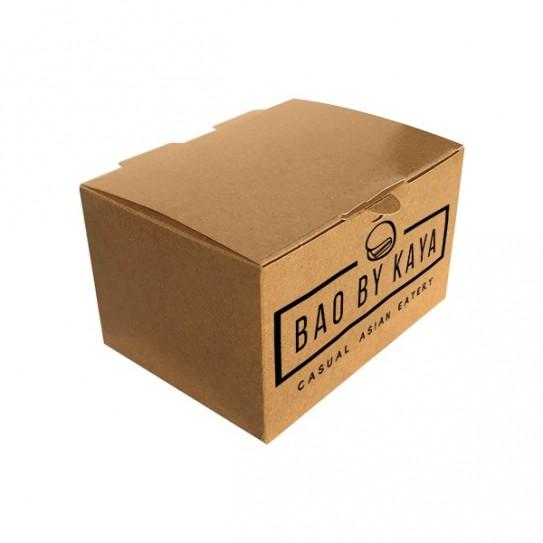Boîte nuggets carton personnalisée