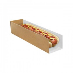 Étui hot-dog en carton