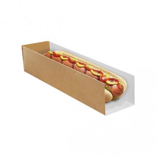 Étui hot-dog en carton