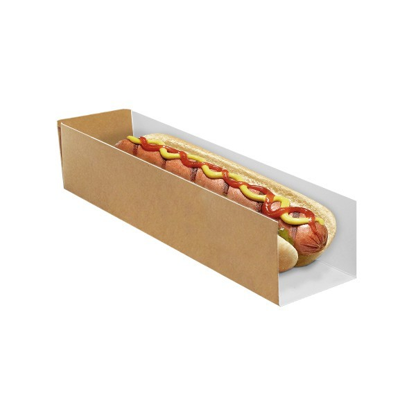 zoom Etui hot-dog en Carton