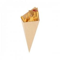 miniature Cornet à frites carton kraft