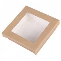 miniature Boîte carton Fenêtre kraft Carrée
