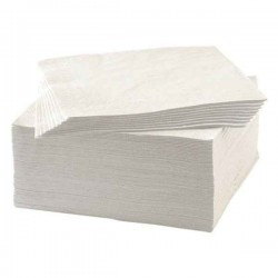 Serviette papier blanc 1 pli