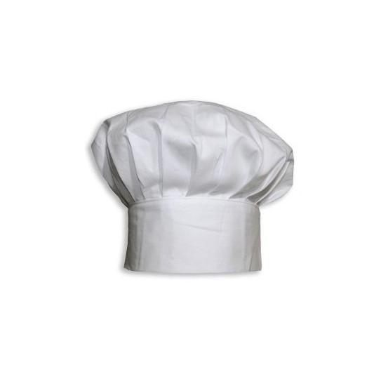 Toque blanche cuisinier - Le Bon Emballage