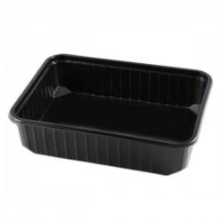 miniature Barquette rectangle multifonction noire