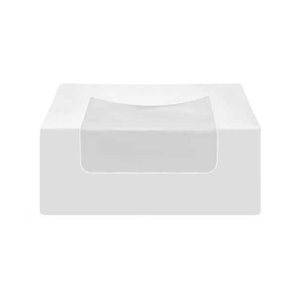 Boite Carton Fenêtre Blanche