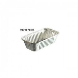 miniature Petite barquette refermable Aluminium