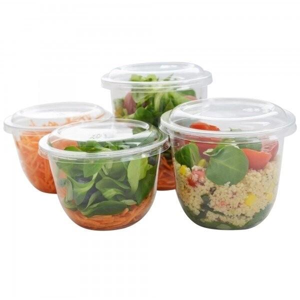zoom Pot Rond à Salade Cristal
