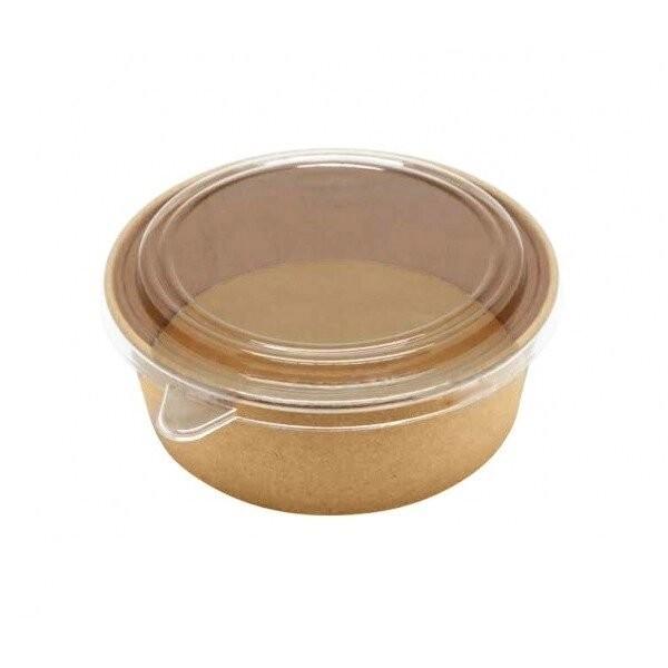 Bol Salade Carton Brun