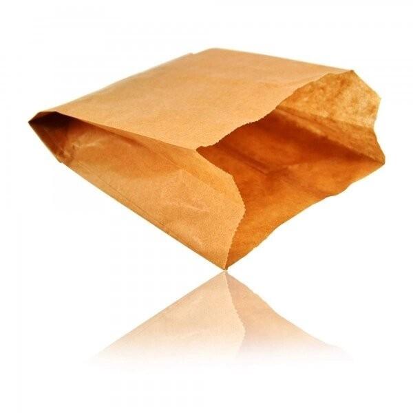 Sac croissant kraft brun