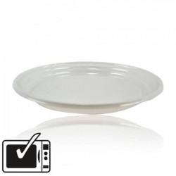 miniature Assiette Plastique Blanche Standard