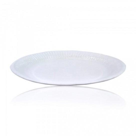 Assiette carton blanche standard