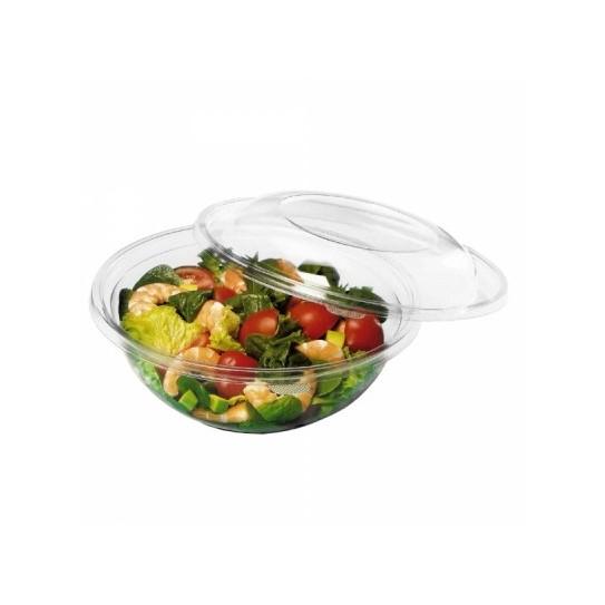 Bol Salade Plastique Rond Dôme