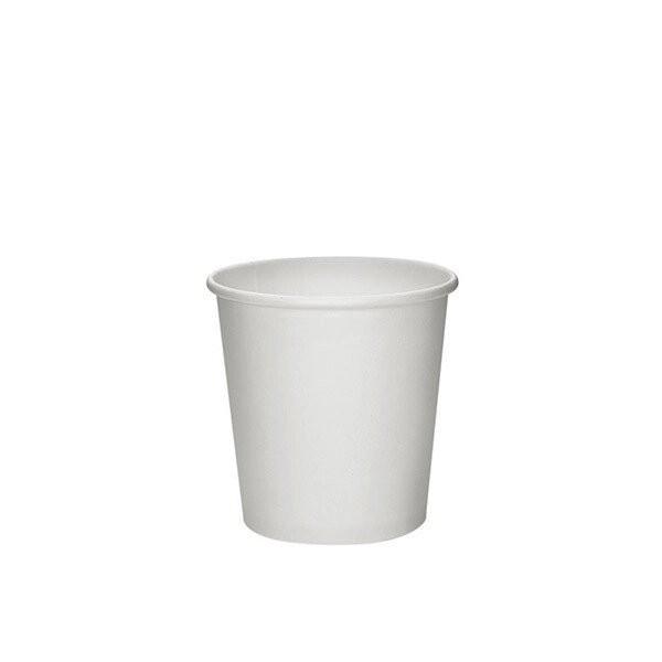 zoom Gobelet carton blanc
