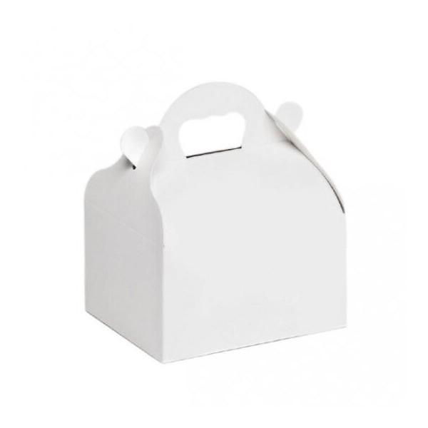 Caissette blanche à poignées