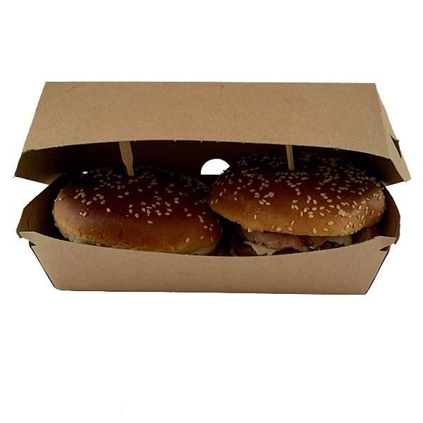 Boite burger double écologique