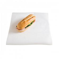 miniature Papier ingraissable blanc 30x40cm