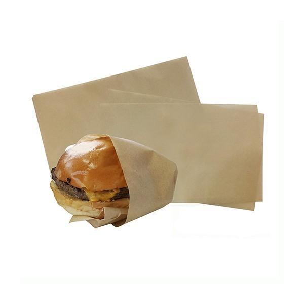 Papier ingraissable brun