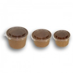miniature Pot Kraft Brun
