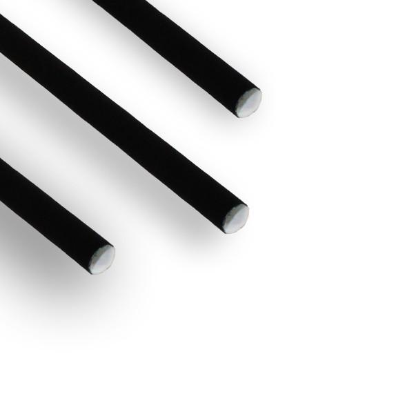 Pailles Kraft Noir