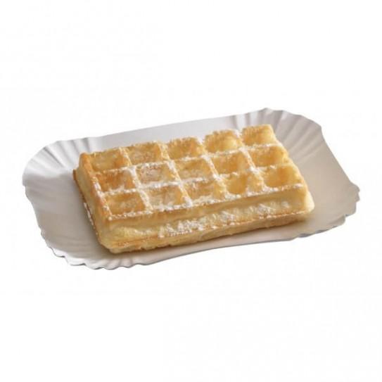 Assiette carton rectangle originale
