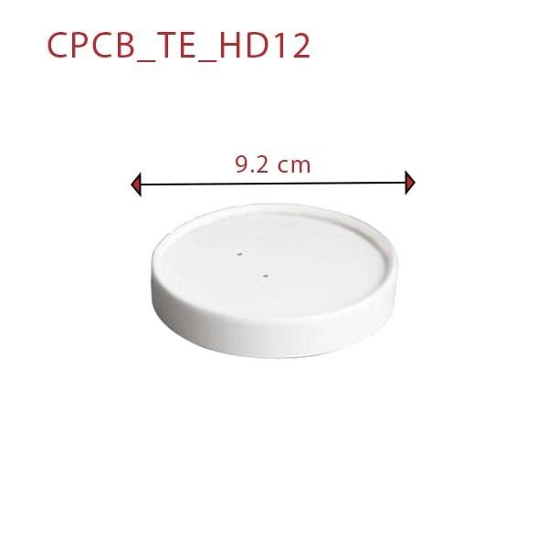 zoom Pot à Soupe Carton Blanc