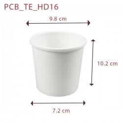 miniature Pot à Soupe Carton Blanc