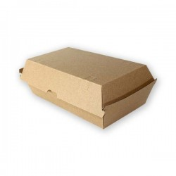 miniature Boite kebab carton en micro-cannelure