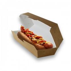 miniature Boite hot-dog en micro-cannelure