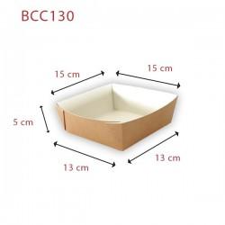 miniature Barquette carton kraft écologique