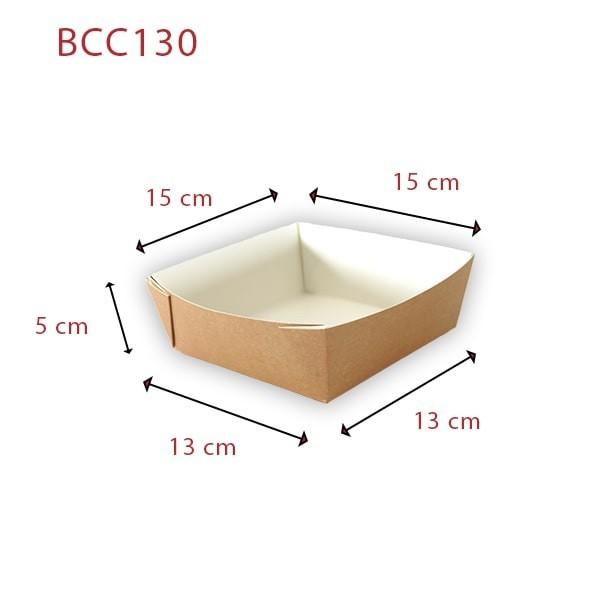 Barquette carton kraft écologique