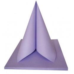 miniature Serviettes colorées 2 plis par sachet