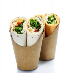 Pot à wrap carton kraft