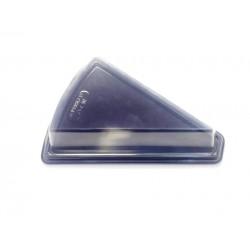 miniature Barquette Part de Tarte Plastique Noire