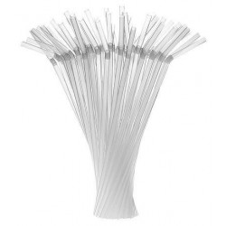 miniature Paille transparente extensible