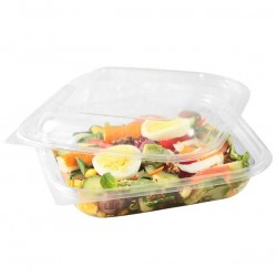 miniature Bol Salade Plastique Carrée