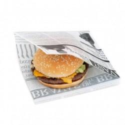 miniature Sachet burger Newspaper