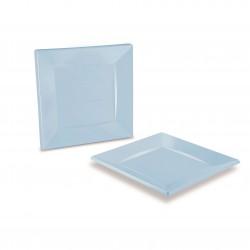 miniature Grande Assiette Carrée Plastique