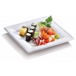 miniature Assiette blanche carrée pulpe