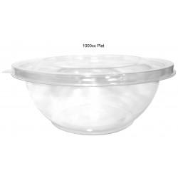miniature Bol salade plastique plat