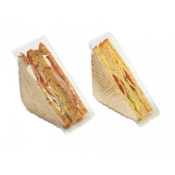 Coque triangle pour 2 sandwichs