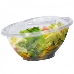 miniature Bol salade biseauté transparent