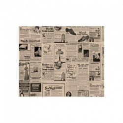Papier Ingraissable Brun Newspapers