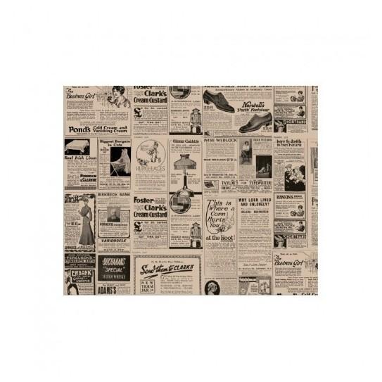 Papier Ingraissable Brun Newspapers