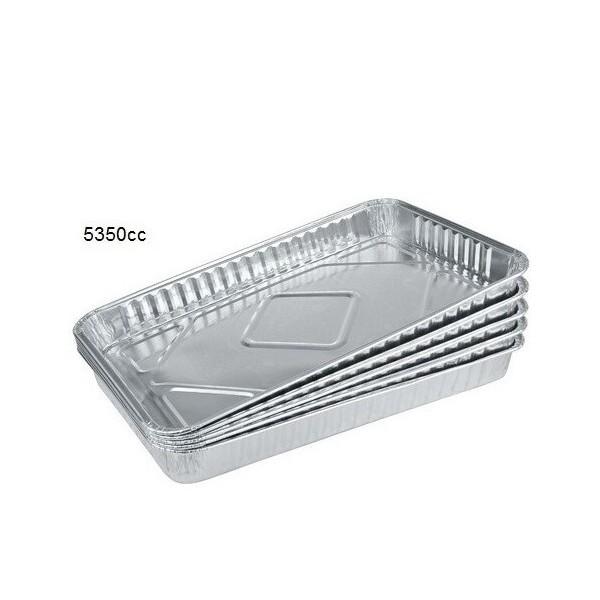Grandes barquettes refermable Aluminium