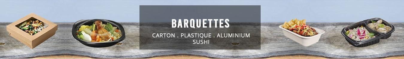 Barquette alimentaire jetable - Le Bon Emballage