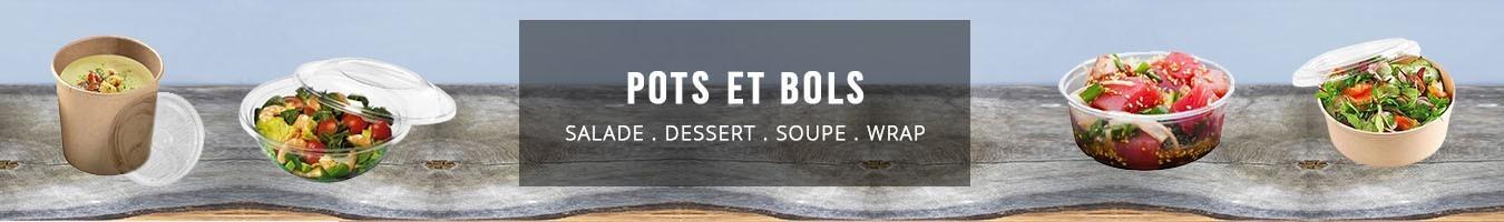 Pot et bol alimentaire jetable - Le Bon Emballage