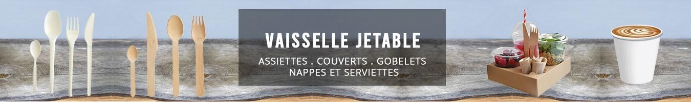 Grossiste vaisselle jetable plastique, carton, pulpe - Le Bon Emballag