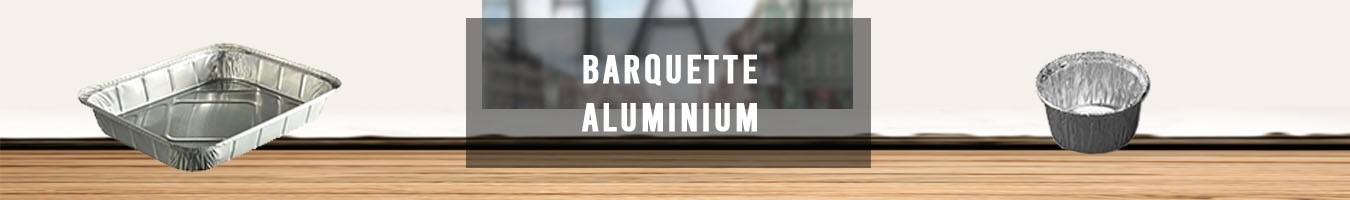 Barquette aluminium alimentaire jetable ecologique - Le Bon Emballage